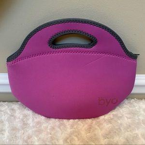 BYO by BUILT NY Rambler Neoprene Lunch Bag, Purple